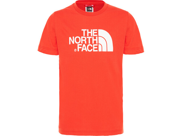 The North Face Easy Camiseta Manga Corta Niños, fiery red/tnf white